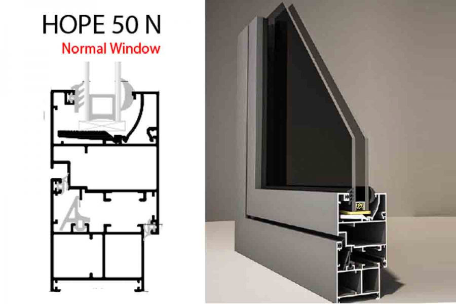 Hope 50N Normal window