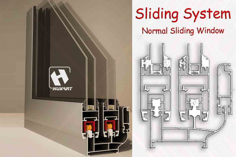 Sliding SyStem Normal Window
